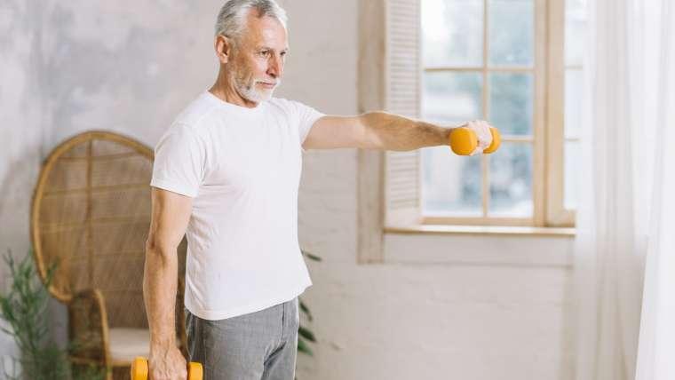 Jak utrzymać sprawność mięśni po 65. roku życia?