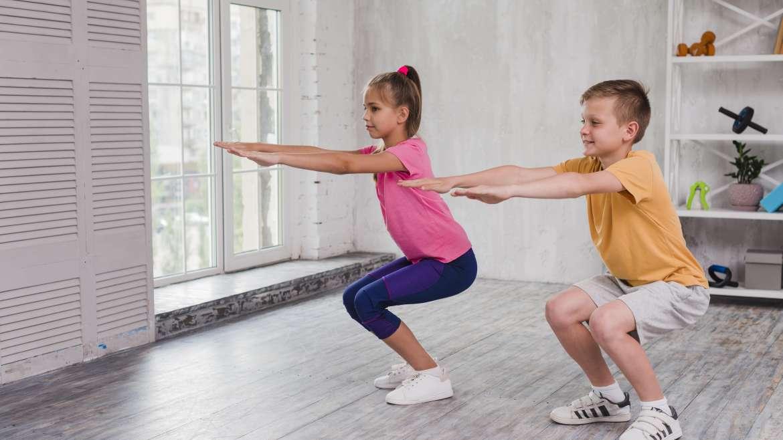Ćwiczenia gimnastyczne dla dzieci w domu
