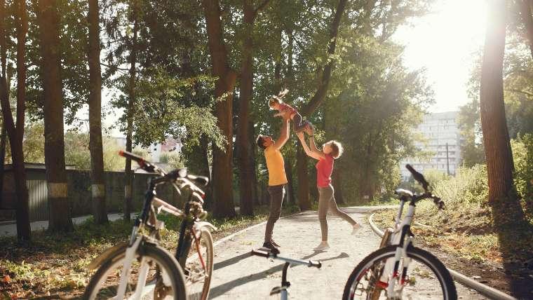 Zdrowe nawyki aktywnych rodzin