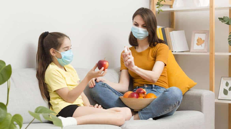 Jak powinno wyglądać odżywianie całej rodziny w czasie epidemii?