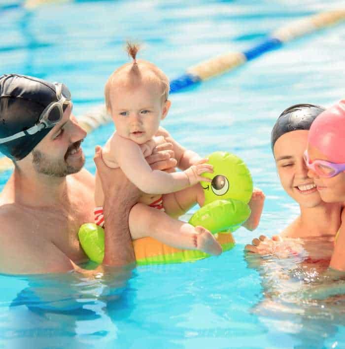 Akcesoria do nauki pływania dla dzieci i dorosłych